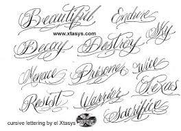 the 25 best tattoo fonts cursive ideas on pinterest script