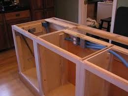 kitchen island build building a kitchen island do it yourself kitchen island back