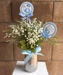 baby shower centerpieces for boy mesmerizing baby boy shower centerpiece ideas 50 in personalized