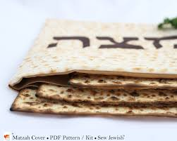seder matzah passover matzah cover sewing pattern kit sew