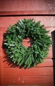 fresh fraser fir wreath 48 looks great hanging on a wall made by