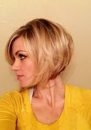 layered wedge haircut for women feminine short hairstyle for women the layered bob cut