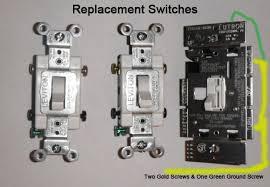 double pole light switch replacing single pole light switches with double pole electrical