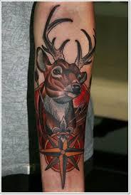 30 amazing deer head tattoo ideas 2018