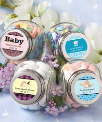 favor favor baby custom baby shower candy jars