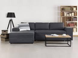 canapé d angle avec rangement canapé d angle convertible avec rangements canapé en tissu gris