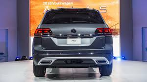 volkswagen atlas seating vw news 2018 volkswagen atlas has a tough task ahead of it