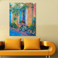 Paintings For Living Room Online Get Cheap Bike Paintings Aliexpress Com Alibaba Group