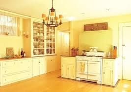 kitchen fascinating yellow painted kitchen cabinets rustic