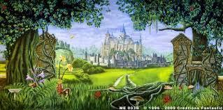 Castle Backdrop Me 003b Medieval Castle 2b