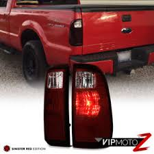 2016 f350 tail lights 2008 2016 ford f250 f350 f450 superduty sd dark red rear tail lights