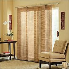 patio door window coverings bamboo sliding panels window window