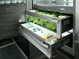 kã hlschrank 50er design schublade kuche flach abgeklappt der toaster findet platz in norm