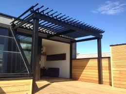 mojave sun patio heater sunlouvre pergolas sur un toit terrasse pergola pergolas