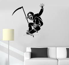 sport de chambre planche à roulettes skate cri chambre stickers muraux décor