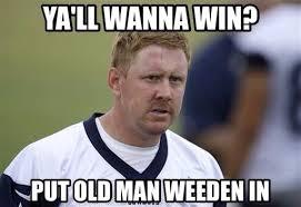 Brandon Weeden Memes - another sports blog on twitter brandon weeden be like
