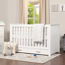 Convertible Cribs With Storage Davinci Asher 3 In 1 Convertible Crib With Storage Reviews Wayfair