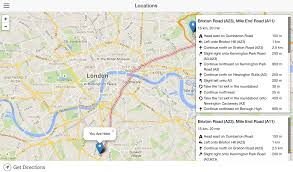 Google Maps Shortest Route Multiple Destinations by Reset Leaflet Routing Machine Route And Controls Geographic