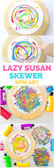 paper plate twisting process art activity for kids easy art