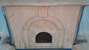 repairing smoke and water damage to marble fireplaces