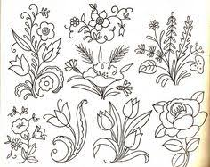 Flower Designs For Embroidery Turkish Embroidery Patterns Google Search Design Pinterest