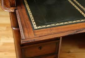 roll top desk tambour antique french napoleon iii pedestal rolltop desk in rosewood c 1860