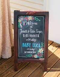 baby shower chalkboard best 25 baby shower chalkboard ideas on baby shower