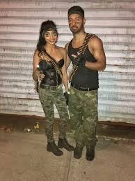 Army Halloween Costumes 18 Clever Halloween Costume Ideas Couples