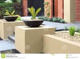 modern front yard design ideas stock photo image 83928187
