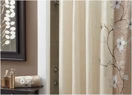 Burlap Shower Curtains Designer Shower Curtains With Valance Unique Bathroom Burlap
