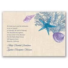 shining seashells real glitter invitation invitations by dawn
