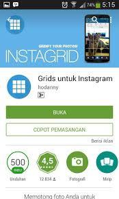 cara membuat instagram grid instagrid cara upload foto di instagram menjadi 3 6 9 12 bagian