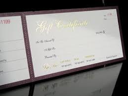 gift certificate printing custom gift certificates blank gift certificates print gift