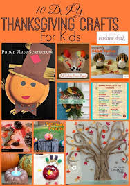 10 diy thanksgiving crafts for