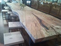 Dining Room Wood Tables Best 25 Wood Slab Dining Table Ideas On Pinterest Live Edge