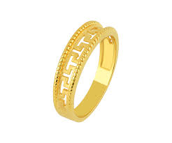 gold wedding bands for him buy rings online best collection of rings orra jewellery store