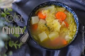 cuisine chou soupe au choux et aux légumes facile le cuisine de samar