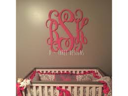 30 inch wooden monogram painted you pick the color wooden