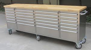 24 drawer 8 ft 96 inch stainless tool bench uncle wiener u0027s wholesale