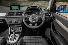 audi q3 dashboard small wonder u0027 audi q3 range independent new review ref 1095 9234