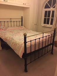 Double Metal Bed Frame Antique Double Metal Bed Frame Vono Vintage In Balham London