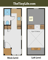 tiny house plans suitable for a family of 4 tiny cabin floor plans