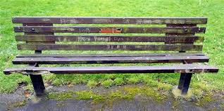 The Bench Graffiti Park Life
