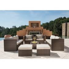 wicker outdoor sofas chairs u0026 sectionals shop the best deals