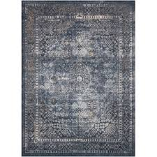 Rust Area Rug 8 X 11 Large Navy Blue Rust Area Rug Malta Rc Willey