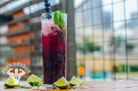 mojito cocktail vodka low calorie blueberry mint vodka mojito fit men cook