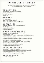 Example Of Writing A Resume by Writing A Resume For Students Best Resume Collection