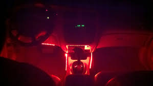 Ford Taurus Interior Custom Red Led Interior Lighting Taurus Car Club Of America