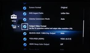 format dvd bluray how to properly configure a blu ray player hd guru