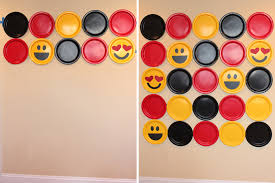 photo booth background diy emoji photobooth backdrop party ideas activities by
